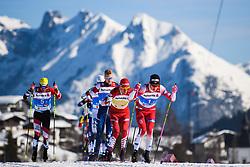 February 24, 2019 - Seefeld In Tirol, AUSTRIA - 190224 Johannes HÂ¿sflot Kl¾bo of Norway competes in men's team sprint semi final during the FIS Nordic World Ski Championships on February 24, 2019 in Seefeld in Tirol..Photo: Joel Marklund / BILDBYRN / kod JM / 87889 (Credit Image: © Joel Marklund/Bildbyran via ZUMA Press)