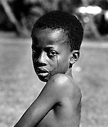 Crying Boy - After fight
