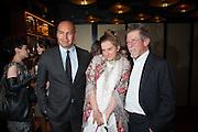 BILLY ZANE;SVETLANA K-LIE; JOHN HURT; , Liberatum Cultural Honour  for John Hurt, CBE in association with artist Svetlana K-Lié.  Spice Market, W London - Leicester Square