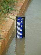 Wateroverlast na extreme regenval in NW-Friesland (omgeving Sexbierum en Wijnaldum).