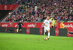 November 15, 2018 - Gdansk, Pomorze, Poland - Kamil Grosicki (11) during the international friendly soccer match between Poland and Czech Republic at Energa Stadium in Gdansk, Poland on 15 November 2018  (Credit Image: © Mateusz Wlodarczyk/NurPhoto via ZUMA Press)