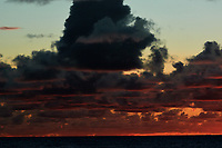 Pacific Ocean Sunrise Panorama viewed from the aft deck of the MV World Odyssey. Image 2 of 20 taken with a Nikon 1 V3 camera and 70-300 mm VR lens (ISO 200, 82 mm, f/8, 1/250 sec). Raw images processed with Capture One Pro and the panorama created using AutoPano Giga Pro.