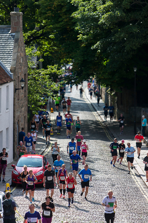 The inaugural Simplyhealth Great Aberdeen Run took place today (27 August) with 8000 people taking part in a 10k, half marathon and Family Run. The event was started by Olympic silver medallist swimmer Robbie Renwick, who set the runners on their way before running the 10k himself. More info: www.greatrun.org/aberdeen <br /> <br /> (Photo: Ross Johnston/Newsline Media)