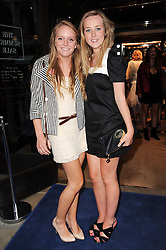 Left to right, EMMA GLOYNE and JO LINGARD at the Ralph Lauren Wimbledon Party held at Ralph Lauren, 1 New Bond Street, London on 17th June 2010.