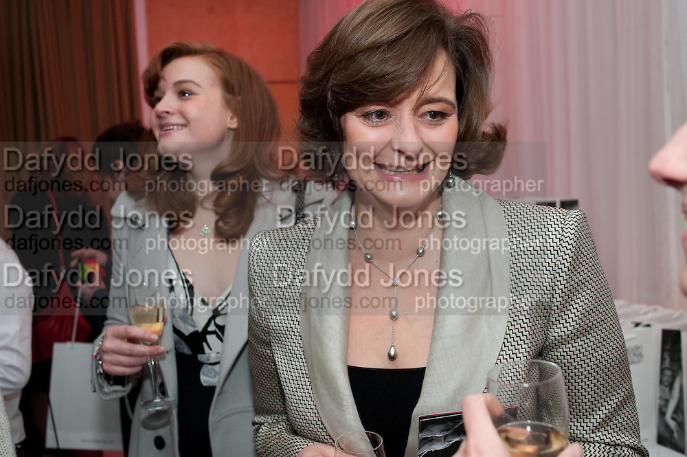 KATHRYN BLAIR; CHERIE BLAIR English National Ballet launches its Christmas season with a partyu before s performance of The Nutcracker at the Coliseum.  St. Martin's Lane Hotel.  London. 16 December 2009 *** Local Caption *** -DO NOT ARCHIVE-© Copyright Photograph by Dafydd Jones. 248 Clapham Rd. London SW9 0PZ. Tel 0207 820 0771. www.dafjones.com.<br /> KATHRYN BLAIR; CHERIE BLAIR English National Ballet launches its Christmas season with a partyu before s performance of The Nutcracker at the Coliseum.  St. Martin's Lane Hotel.  London. 16 December 2009