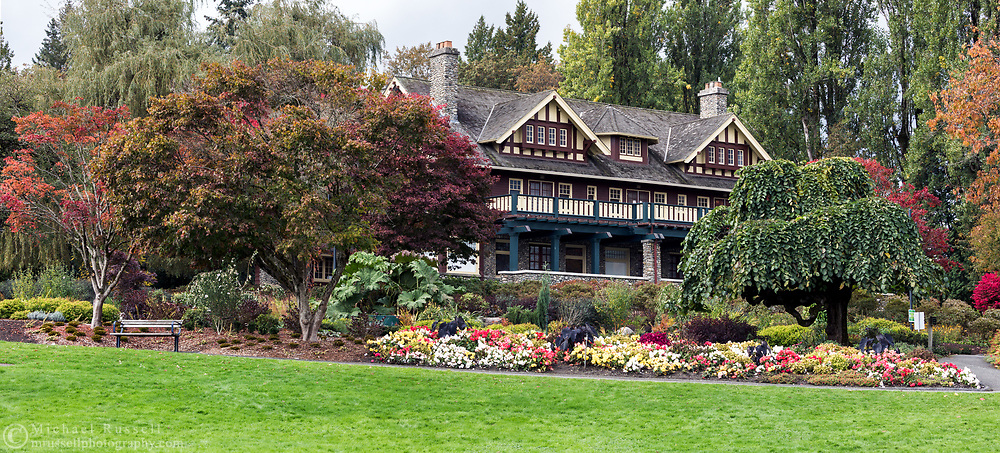 Ceperley House was built in 1911 and has housed the Burnaby Art Gallery since the late 1960's.  The mansion is surrounded by the Century Gardens within the northern border of Deer Lake Park in Burnaby, British Columbia, Canada.
