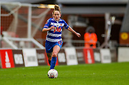 Readingmidfielder Rachel Rowe (23) during the FA Women's Super League match between Manchester United Women and Reading LFC at Leigh Sports Village, Leigh, United Kingdom on 7 February 2021.