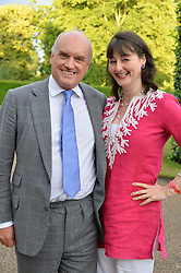 NICHOLAS & GEORGIA COLERIDGE at The Ralph Lauren & Vogue Wimbledon Summer Cocktail Party at The Orangery, Kensington Palace, London on 22nd June 2015.  The event is to celebrate ten years of Ralph Lauren as official outfitter to the Championships, Wimbledon.