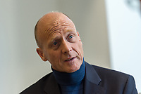 """Thomas """"Tom"""" Enders, PDG d'Airbus, photographié à Londres le 16 janvier 2018.<br /> Thomas """"Tom"""" Enders, Airbus CEO, photographed in London, Jan. 16th 2018."""