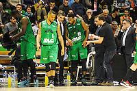 Taurean GREEN / J.D JACKSON / David LIGHTY  - 29.12.2014 - Lyon Villeurbanne / Le Havre - 16e journee Pro A<br />Photo : Jean Paul Thomas / Icon Sport