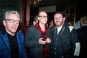 BRYAN WILKINS; NATHAN WILKINS; WAYNE SHIRES, Ponystep - issue 3 launch party, George and Dragon, 2-4 Hackney Road, London, E2.  April 5 2012.