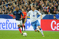 FOOTBALL - UEFA EUROPEAN CHAMPIONSHIP 2012 - QUALIFYING - GROUP D - FRANCE v BOSNIA - 11/10/2011 - PHOTO JEAN MARIE HERVIO / DPPI - ELVIR RAHIMIC (BOS)