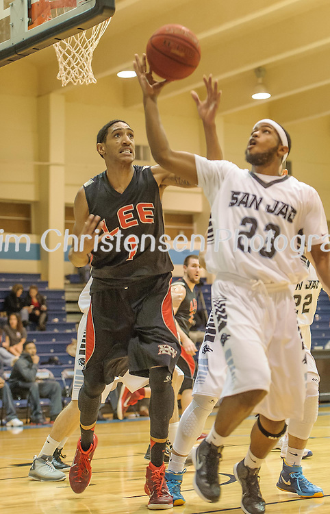Lee College Vs Pasadena Basketball Action<br /> 02/04/15