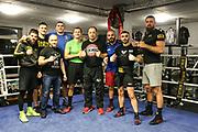 BOXEN: EC Boxing, Hamburg, 30.01.2020<br /> Teamfoto<br /> © Torsten Helmke