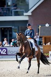Minderhoud Hans Peter, NED, Glock's Johnson TN<br /> Nederlands Kampioenschap Dressuur - Ermelo 2016<br /> © Hippo Foto - Leanjo de Koster<br /> 15/07/16