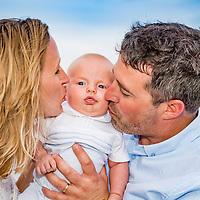 Thomas Family Beach Portraits, Myrtle Beach State Park, Sc August 13, 2017