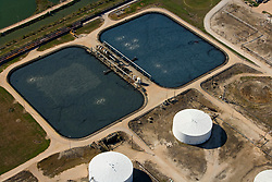 Tank farm located along the Port of Houston