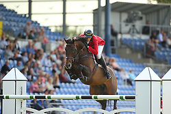Wathelet Gregory, (BEL), Conrad de Hus<br /> Team Competition round 1 and Individual Competition round 1<br /> FEI European Championships - Aachen 2015<br /> © Hippo Foto - Stefan Lafrentz<br /> 19/08/15