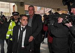 Michael Le Vell (Coronation Street's Kevin Webster) arrives at Manchester Crown Court after facing sex charges, Manchester, UK, March 21, 2013. Photo by i-Images..