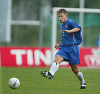 Football,  21. july 2002. European under 19 Championship. Norway v Slovakia 1-5. Marek Kostolani, Slovakia.<br />  Marek Kostoláni, Slovakia.<br /> Fotball, 21. juli 2002. EM U.19. Norge - Slovakia.