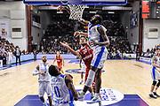 DESCRIZIONE : Eurolega Euroleague 2015/16 Group D Dinamo Banco di Sardegna Sassari - Brose Basket Bamberg<br /> GIOCATORE : Elias Harris Christian Eyenga<br /> CATEGORIA : Tiro Penetrazione Stoppata<br /> SQUADRA : Dinamo Banco di Sardegna Sassari<br /> EVENTO : Eurolega Euroleague 2015/2016<br /> GARA : Dinamo Banco di Sardegna Sassari - Brose Basket Bamberg<br /> DATA : 13/11/2015<br /> SPORT : Pallacanestro <br /> AUTORE : Agenzia Ciamillo-Castoria/L.Canu