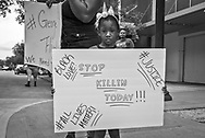 George Flyod Solidarity Protest in Baton Rouge, Louisiana on May 31, 2020.