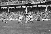 Group of players fight for the slitor during at the All Ireland Senior Hurling Final, Cork v Kilkenny in Croke Park on the 3rd September 1972. Kilkenny 3-24, Cork 5-11.