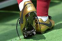 New Nike shoes Francesco Totti scarpini <br /> Roma 30-04-2017 Stadio Olimpico Football Calcio Serie A 2016/2017 AS Roma - Lazio Foto Andrea Staccioli / Insidefoto