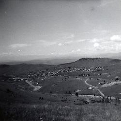 August 1968:  Cripple Creek Colorado can be seen in the valley off in the distance of this photo..Image taken by a pre-teen boy during the year listed in caption,  scanned and adjusted in PhotoShop.  Image was shot with a Kodak Hawkeye 126 Instamatic camera..