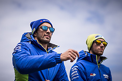 October 28, 2018 - Melbourne, Victoria, AUSTRALIE - ANDREA IANNONE - ITALIAN - TEAM SUZUKI ECSTAR - SUZUKI.ALEX RINS - SPANISH - TEAM SUZUKI ECSTAR - SUZUKI (Credit Image: © Panoramic via ZUMA Press)