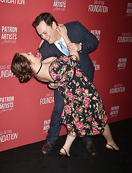 SAG-AFTRA Foundation's 3rd Annual Patron Of The Artists Awards at Wallis Annenberg Center for the Performing Arts on November 8, 2018 in Beverly Hills, California. CAP/ROT/TM ©TM/ROT/Capital Pictures. 08 Nov 2018 Pictured: Rachel Bloom, Dan Gregor. Photo credit: TM/ROT/Capital Pictures / MEGA TheMegaAgency.com +1 888 505 6342