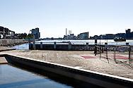 Island Brygge, landscape, architecture, harbor, Europe, Scandinavia, Copenhagen, Denmark.