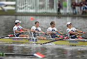Amsterdam, HOLLAND,  GBR LM4-, Bow Richard CHAMBERS, James LINDSAY-FYNN, Paul MATTICK and Richard CLARKE.  at the 2007 FISA World Cup, Second Round, Finals day,  at the Bosbaan Regatta Rowing Course. 24.06.2007, [Mandatory Credit: Peter Spurrier/Intersport-images]...... , Rowing Course: Bosbaan Rowing Course, Amsterdam, NETHERLANDS