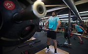 All Blacks lock Sam Whitelock during the All Blacks gym session at Les Mills, Wellington, in preparation for the 2nd test match between the All Blacks and the British & Irish Lions at Westpac Stadium, Wellington.    26   June   2017    New Zealand Herald photograph by Brett Phibbs