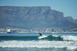 South Africa - Cape Town - 16 June 2020 - On Youth Day, which is also a public holiday,beach goers flocked to Tableview to surf,walk their dogs and tan on the beach even though all public beaches are still off limits under the Lockdown Level 3 regulations. Photographer: Armand Hough/African News Agency(ANA)