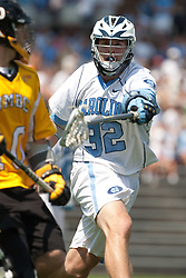09 May 2009: North Carolina Tar Heels defenseman Jack Ryan (32) during a 15-13 win over the University of Maryland - Baltimore County Retrievers on Fetzer Field in Chapel Hill, NC.