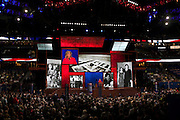 Ann Romney speaks at the RNC in Tampa, FL, on Tuesday, Aug. 28, 2012. ..Photograph by Andrew Hinderaker for TIME