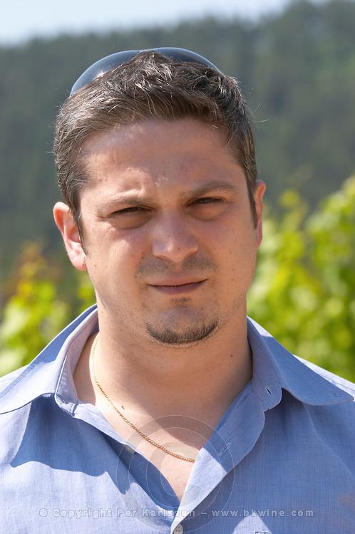 Nikos Karatzas, oenologist winemaker. Ktima Pavlidis Winery, Drama, Macedonia, Greece