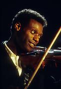Mykaell Riley Reggae Philhamonic Ochestra video shoot 1988