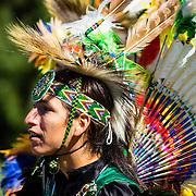 Native dancers at aboriginal POW WOW
