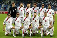 Fotball <br /> FIFA World Youth Championships 2005<br /> Tilburg<br /> Nederland / Holland<br /> 12.06.2005<br /> Foto: ProShots/Digitalsport<br /> <br /> Syria v Canada<br /> <br /> Syria