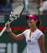 Tennis: BNP Paribas Open 2014 Li Na vs Dominika Cibulkova