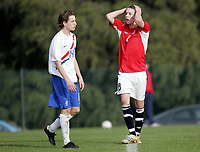 Fotball / Football<br /> International U 17 Team Tournament<br /> Norge v Nederland 0-1<br /> Norway v Holland 0-1 at La Manga - Spain<br /> 07.02.2007<br /> Foto: Morten Olsen, Digitalsport<br /> <br /> Andreas Konradsen - Bodø/Glimt / Norway<br /> Johnny de Vries - Heerenveen / Holland