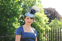 SUZI PERRY at the second day of the 2010 Royal Ascot Racing festival at Ascot Racecourse, Berkshire on 16th June 2010.