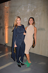 LONDON, ENGLAND 6 DECEMBER 2016: <br /> Laura Pradelska, Lara Fraser at the Fabergé Visionnaire DTZ Launch held on the 39th Floor Penthouse, South Bank Tower, Upper Ground, London, England. 6 December 2016.