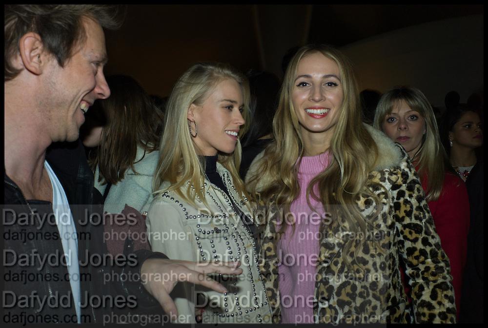 Mary Charteris: Harley Viera Newton , Julia Peyton-Jones, Hans Ulrich Obrist and Coach host the Serpentine Future Contemporaries Party. Serpentine Sackler Gallery. Kensington Gdns. London. 21 February 2015