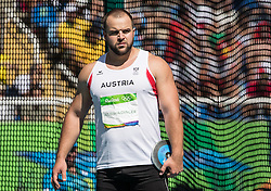 13.08.2016, Olympic Stadium, Rio de Janeiro, BRA, Rio 2016, Olympische Sommerspiele, Discus, im Bild Lukas Weißhaidinger (AUT) // Lukas Weißhaidinger of Austria during the Discus Tournament of the Rio 2016 Olympic Summer Games at the Olympic Stadium in Rio de Janeiro, Brazil on 2016/08/13. EXPA Pictures © 2016, PhotoCredit: EXPA/ Johann Groder