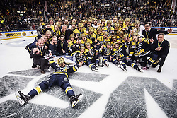 April 29, 2017 - Stockholm, Sweden - SM-Guld till HV71 ..SHL, Final 7 av 7, HV71-Brynäs IF (Credit Image: © Aftonbladet/IBL via ZUMA Wire)