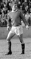 Sammy Pavis, footballer, Linfield FC, Belfast, N Ireland, action, November 1968, 196811000167<br /> <br /> Copyright Image from Victor Patterson, Belfast, UK<br /> <br /> t: +44 28 9066 1296 (from Rep of Ireland 048 9066 1296)<br /> m: +44 7802 353836<br /> e: victorpattersonbelfast@gmail.com<br /> <br /> www.images4media.com<br /> <br /> Please see my full Terms and Conditions of Use at https://www.images4media.com/p/terms-conditions - it is IMPORTANT that you familiarise yourself with them.<br /> <br /> Images used online incur an additional cost. This cost should be agreed in writing in advance. Online images must be visibly watermarked i.e. © Victor Patterson or that of the named photographer within the body of the image. The original metadata must not be deleted from images used online.<br /> <br /> This image is only available for the use of the download recipient i.e. television station, newspaper, magazine, book publisher, etc, and must not be passed on to a third party. It is also downloaded on condition that each and every usage is notified within 7 days to victorpattersonbelfast@gmail.com.<br /> <br /> The right of Victor Patterson (or the named photographer) to be identified as the author is asserted in accordance with The Copyright Designs And Patents Act (1988). All moral rights are asserted.