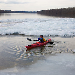 Winter Paddle on the Potomac River